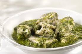 paling in het groen