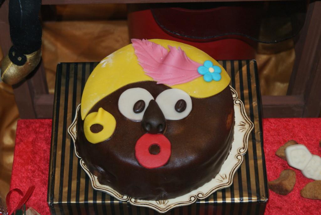 Echte Zwarte Piet-taart