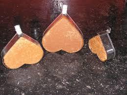 borstplaat hartjes met vorm