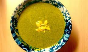 boerenkoolsoep met pompoenpitten