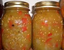 groene tomaten-chutney