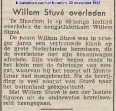 Willem Stuve tekst uit de krant
