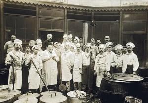koks in de eerste wereldoorlog kookten eten voor de uitdeling