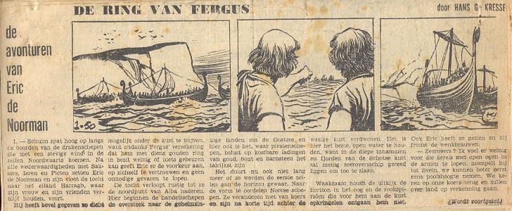 1959 Eric De Noorman is terug